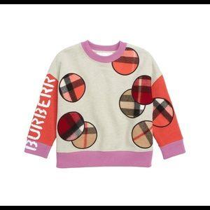 Burberry - Check Appliqué Cotton Sweatshirt